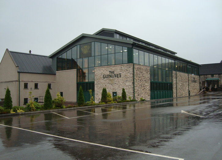 Glenlivet Distillery, Active