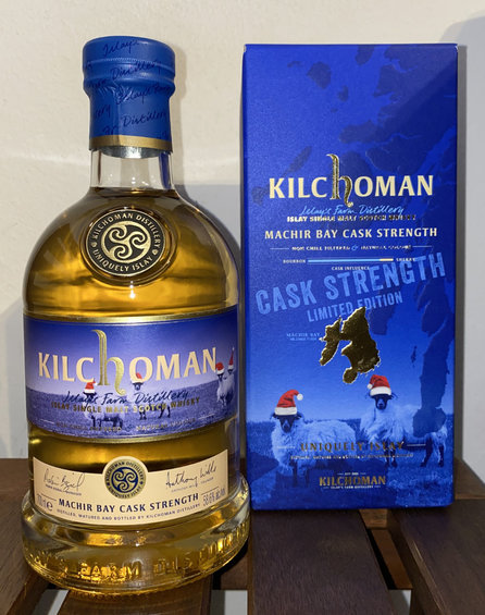 Kilchoman Machir Bay Cask Strength Limited Edition OA